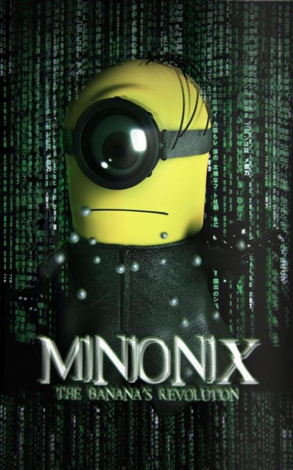Minions-fantasiados-Matrix