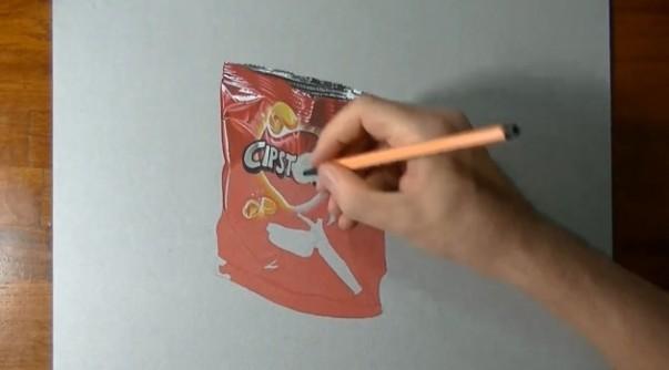 Passo-a-passo-de-uma-pintura-Hiper-Realista-de-pacote-de-chips-3-630x349