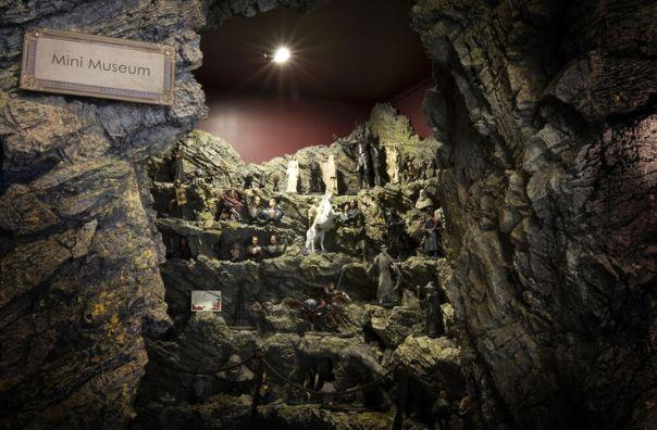 Mini museu da The Weta Cave