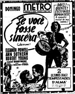 Os melhores cinemas da cidade ficavam na Avenida São João e Ipiranga, no centro