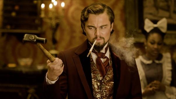 """Leonardo DiCaprio em cena de """"Django"""""""