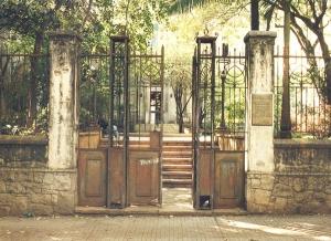 Fachada do prédio da FAU, 1997. Foto: Paulo Liebert/Estadão