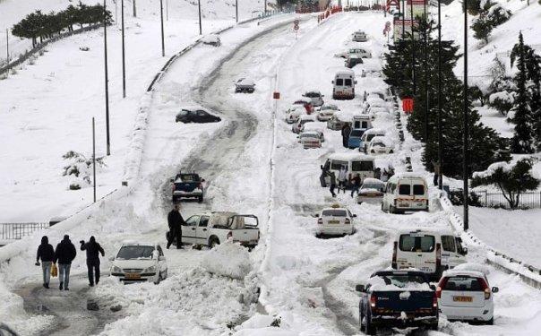Jerusalém registrou tempestade de neve histórica