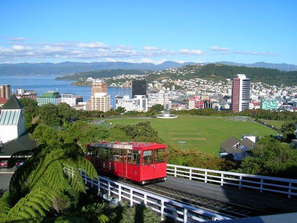 Wellington, a capital da Nova Zelândia