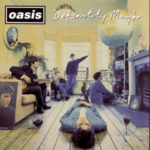 Capa do disco 'Definitely maybe', do Oasis (Foto: Divulgação)