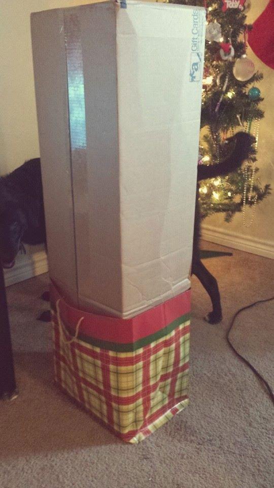 11- Jamais os mande embalar os presentes
