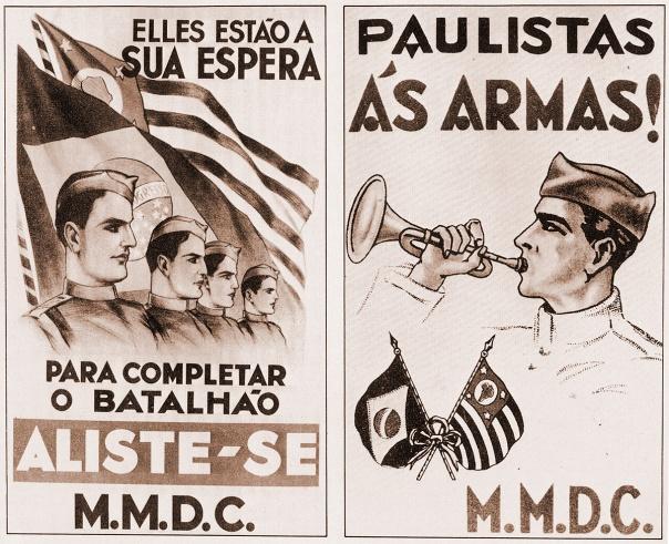 Cartazes da Revolução de 1932