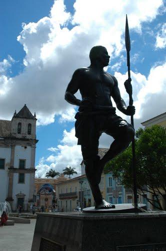 Monumento a Zumbi dos Palmares em Salvador, Bahia