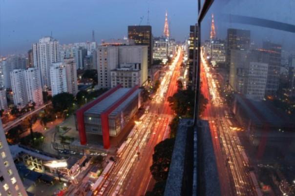 847 metros acima do nível do mar: Paulista está localizada no ponto mais alto da cidade (Foto: Raul Junior)