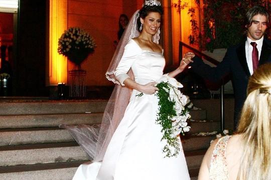 A atriz Maria Fernanda Cândido casou-se na Paulista, em 2005: você também pode (Foto: Rogerio Lacanna)