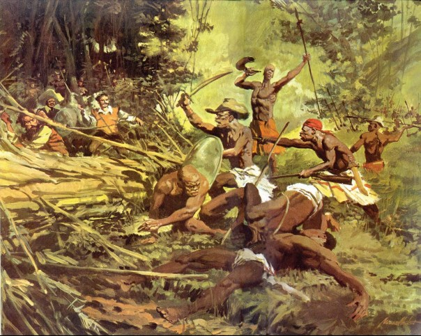 Os negros que conseguiam fugir formavam comunidades que recebiam o nome de Quilombos. Nelas havia a distribuição do trabalho e a prática de atividades como a agricultura, a caça, a coleta, a mineração e o comércio. Além de escravos fugidos os quilombos abrigavam ainda indígenas, desertores e pessoas perseguidas sendo que não eram poucas as alianças com comerciantes e homens livres que ajudavam a manter os quilombos ativos.