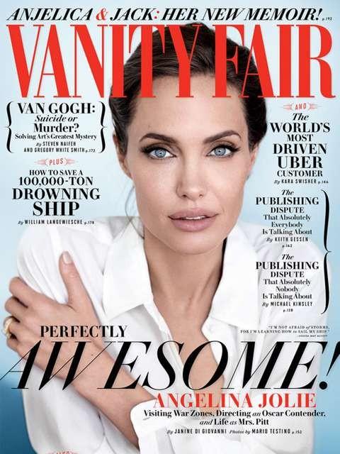A capa da revista Vanity Fair, que chega às bancas dia 11 (Foto: Reprodução)