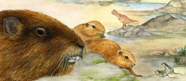 Ilustração mostra como seriam os Vintana sertichi - Luci Betti-Nash/Stony Brook University