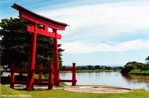 Torii - Local onde desembarcaram os primeiros colonizadores Japoneses